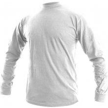 Canis Pánské tričko s dlouhým rukávem PETR Bílá