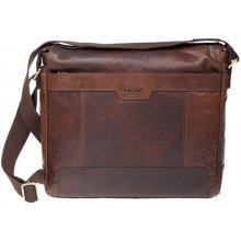 7065d40a35 Lagen pánska kožená taška LN-20653 hnedá