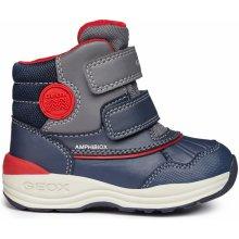 Geox Chlapčenské zimné topánky New Gulp modré cb036c496d0