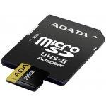 ADATA microSDHC 256GB UHS-II U3 AUSDX256GUII3CL10-CA1