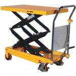 78e0c86573389 Prepravný vozík B2B Partner Hydraulivcký zdvíhací stôl TFD 350 kg zdvih  1300 mm