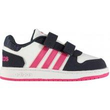 07f4daafa80 Adidas HOOPS 2.0 tenisky dětské dívčí wht pink navy