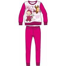 Disney by Arnetta Dievčenské pyžamo Máša a Medveď svetlo ružové