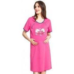 137fb3e32 Vienetta Secret dámska nočná košeľa materská Batoľatá bílá káva od ...