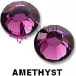 Amethyst kamienky na 3D mihalnice SS5 25 ks