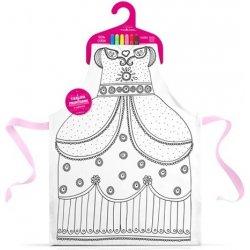 ce52ecd3441f Princeznovské šaty k vymaľovanie Marielle Bazard od 23