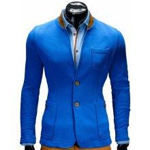 7dcfd71d2829 Ombre pánské sportovní sako M07 modrá