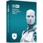 ESET Family Security Pack 4 lic. 18 mes. Predĺženie