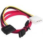 Gembird CC-SATA SATA dátový kábel 48cm vrátane redukcie napájania MOLEX - SATA