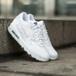 Nike Air Max 90 Leather (GS) white/ cool grey