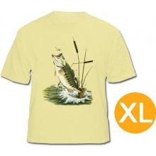 Rybárske tričko s rybou