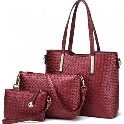 c90d960ca4 kabelka Samantha cez rameno s crossbody a clutch červená od 31