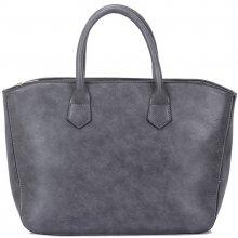 d7b7999874c2 Zazza kabelka v tmavo-sivej farbe