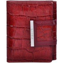 Lagen Dámská červená kožená peňaženka Red 61175-2