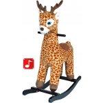 PlayTo houpací hračka žirafa hnědá