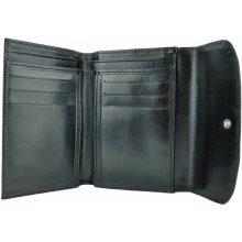 Luxusná dámska kožená peňaženka č.7945 v čiernej farbe 6b9f7ba0540