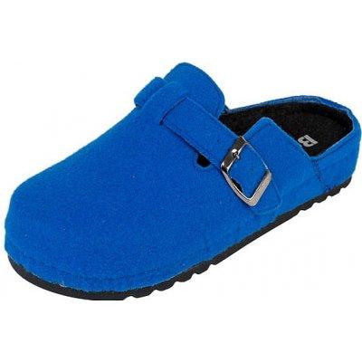 Dámske zdravotné papuče BZ155 svetlomodré