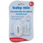 BABY MIX Prvá Zubná Kefka S Púzdrom
