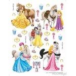 AG Design DK-1773 samolepící dekorace Princezny Disney, rozmery 65x85cm