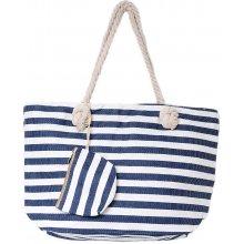 Jordan collection plážová taška Modro biele pruhy