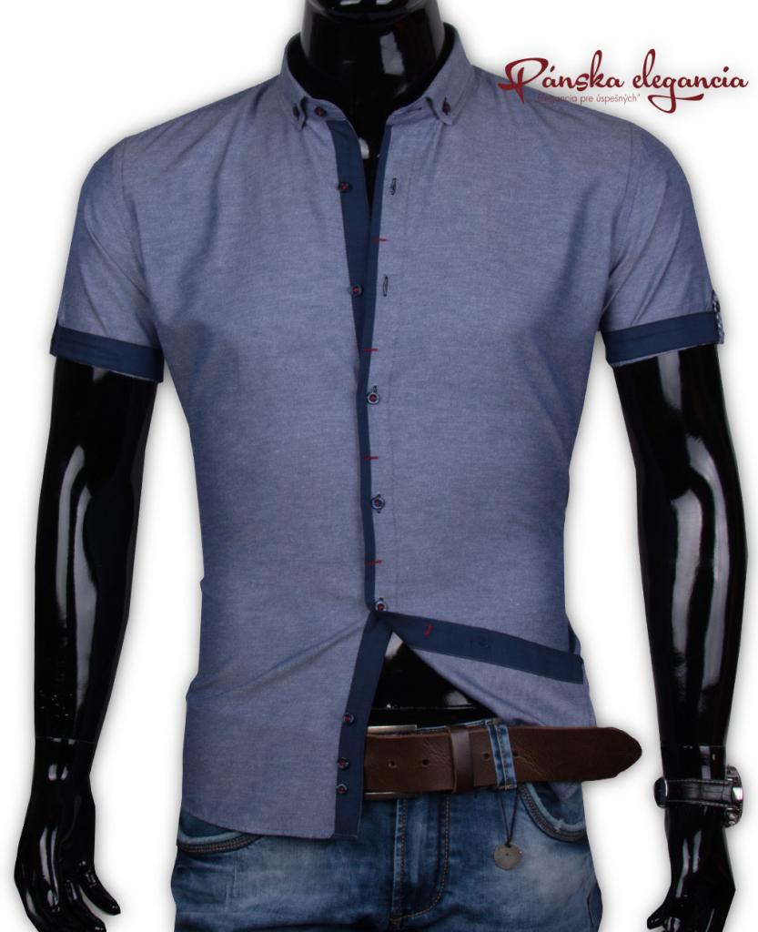 06b8d50bbebf Pánska košeľa Ego Man 40021-EM-K-103 Trendová pánska košeľa