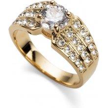 Prsteň s krištáľmi Swarovski Oliver Weber Inspire Gold 41125 ea5a4a27bc4