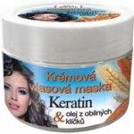BC Bione Cosmetics Keratin Grain krémová maska pre všetky typy vlasov 260 ml