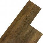 plávajúca Vinylová STILISTA 5,07m² kafrové dřevo hnědé OEM M32517