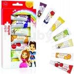Edel+White 7 ovocných zubnách past pre děti 7 x 9,3 ml