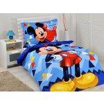 Jerry Fabrics obliečky Mickey Mouse micro 2016 140x200 70x90