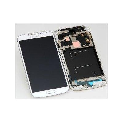 Samsung Galaxy S4 LTE i9506 - LCD Displej + Dotykové Sklo (Biely) original; GH97-15202A