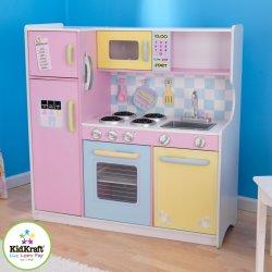 KidKraft Velká kuchyňka PASTEL