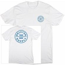 Brixton Oath Tee White/Blue