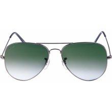 Urban Classics Sunglasses PureAv gun/green