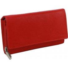 MERCUCIO Peňaženka s deleným mincovníkom 2311642-RED