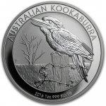 Kookaburra Stříbrná mince 1 AUD Australian Ledňáček 1 Oz 2016