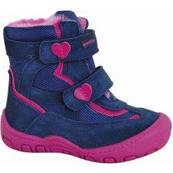 cff9947f69541 Protetika Dievčenské zimné topánky Diana modro-ružové alternatívy ...