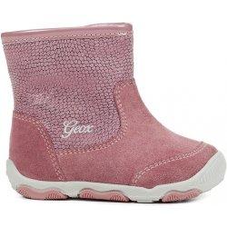 0a95fd79247b Geox Dievčenská členková obuv New Balu ružové od 59