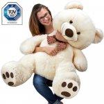 Veľký krémový medveď XL 100 cm