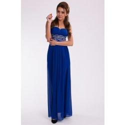 7e21dcdb9a61 Eva   Lola spoločenské šaty s kamienkami modré 9610-3 alternatívy ...