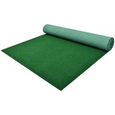 shumee Umelý trávnik s nopmi PP 5x1 m zelený