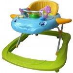 Baby Mix Detské chodítko 2v1 zelené