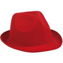 Wandar polyester.klobúk červená