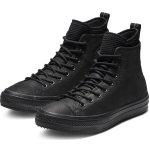 Converse čierne kožené pánske tenisky Chuck Taylor All Star Hi Black b9d328d906