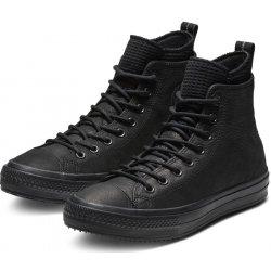 7e8107f03 Converse čierne kožené pánske tenisky Chuck Taylor All Star Hi Black ...