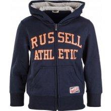 Russell Athletic Hoody zips Thru Hoody chlapčenská mikina