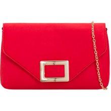 3a7039640e dámska červená listová kabelka s prackou K-L2098