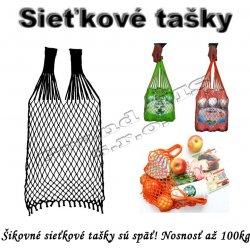 2b1a0f994820b Sieťová nákupná taška čierna - typ A alternatívy - Heureka.sk
