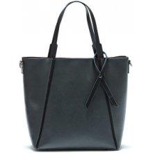 Mangotti kožená kabelka 480 Grigio