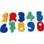 Lezecké kamene čísla MIX color set 10 ks